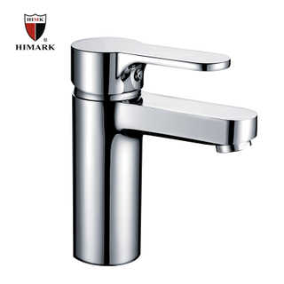 HIMARK single lever brass chrome upc bathroom basin mixer faucet