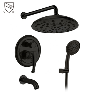 HIMARK bathroom 3 function oil rubbed bronze bathtub and shower faucet