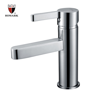 HIMARK China brass CE certified chrome modern single hande bathroom basin mixer taps