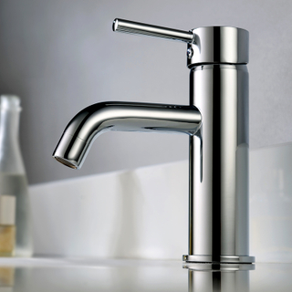 HIMARK China brass chrome modern one hole bathroom basin mixer tap